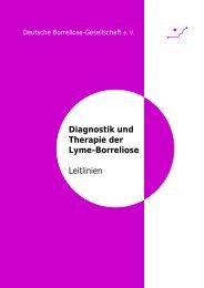 DBG Leitlinien Lyme-Borreliose - Deutsche Borreliose-Gesellschaft eV