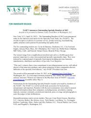 NASFT Announces Outstanding Specialty Retailers of 2012 Awards ...