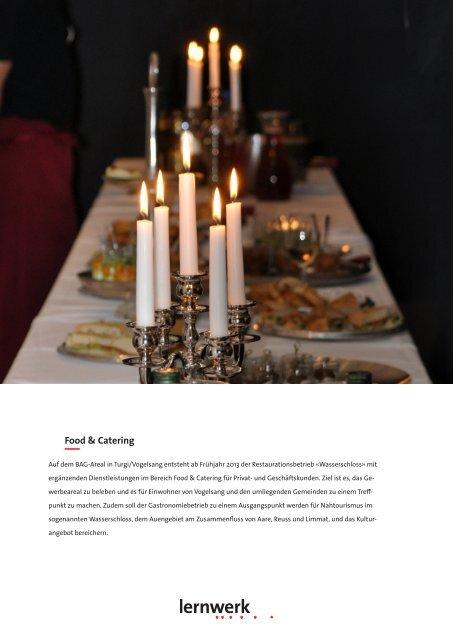 Factsheet Food & Catering - Lernwerk
