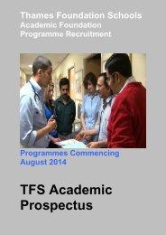 TFS Academic Prospectus.pdf - South Thames Foundation School
