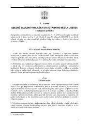 č. 3/2009 OBECNĚ ZÁVAZNÁ VYHLÁŠKA STATUTÁRNÍHO MĚSTA ...