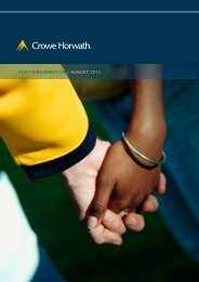 skatteinformation / august 2013 - Crowe Horwath International