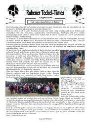 Ausgabe 03/05 - Teckelgruppe Raben