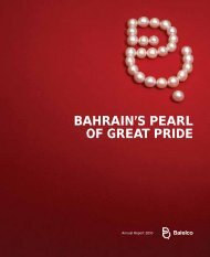 BAHRAIN'S PEARL OF GREAT PRIDE - Batelco Group