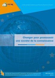 64 pages Université européenne d'été 2010 - Freref
