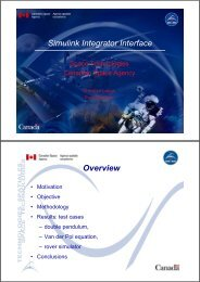 Simulink Integrator Interface Overview