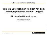 Die graue Revolution - Bodensee-Forum Personalmanagement