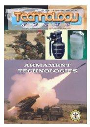 ARMAMENT TECHNOLOGIES ARMAMENT TECHNOLOGIES - DRDO