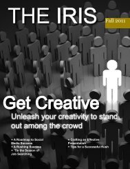 Unleash your creativity to stand out among the crowd - Phi Chi Theta