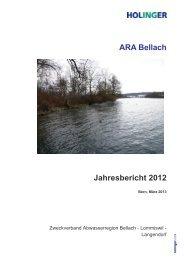 ARA Bellach Jahresbericht 2012