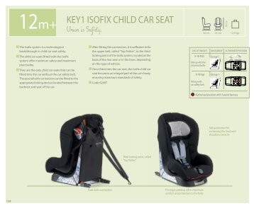 KEY1 ISOFIX CHILD CAR SEAT - Chicco
