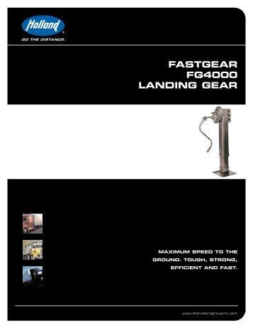 fastgear fg4000 landing gear - saf-holland