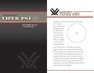 Vortex TMCQ MRAD reticle manual - EuroOptic.com