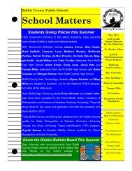 School Matters (May 2011) - Bullitt County Public Schools