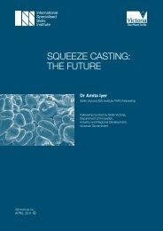 squeeze casting: the future - International Specialised Skills Institute
