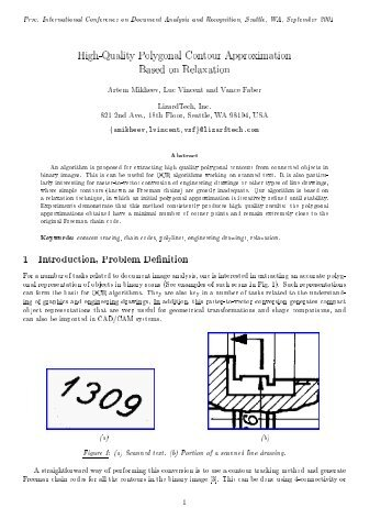 1 Introduction, Problem Definition - Vincent-Net
