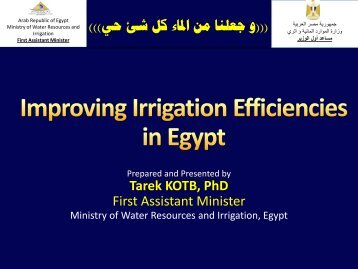 Title of Presentation - Arab Water Council