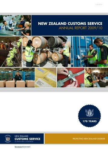 Annual Report 2009-2010 - New Zealand Customs Service