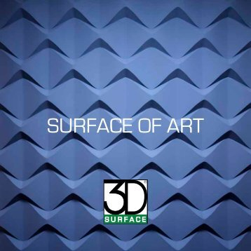 3D SURFACE - Brochure ita - Home and Spa Design