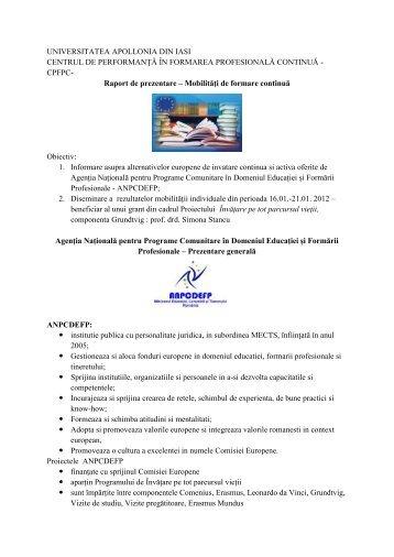 """Citește mai mult - Universitatea """"Apollonia"""" din Iasi"""