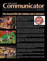 Fifty-Second RSSI C&S Exhibition held in Cincinnati - Railway ...