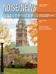 Volume 16, Number 3, September, 2008 - Noise News International