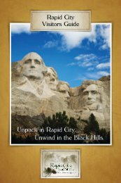Challenges At The Places You Visit - Rapid City Convention and  ...