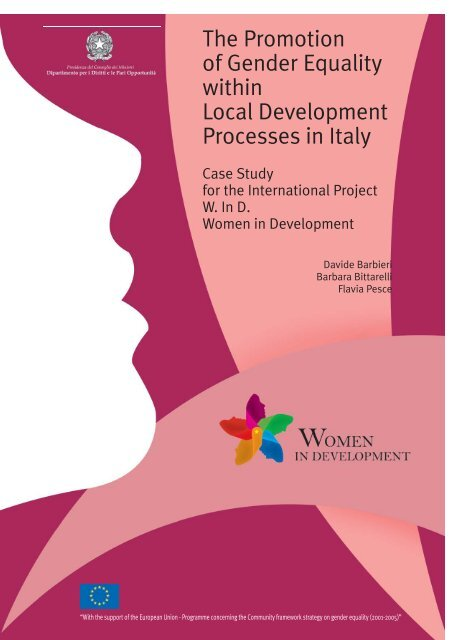 The Promotion of Gender Equality within Local Development ...