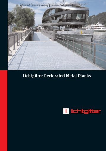 Lichtgitter Perforated Metal Planks