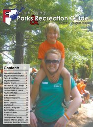 Parks Recreation Guide - Forsyth County Government