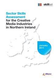Sector Skills Assessment for the Creative Media Industries ... - Skillset