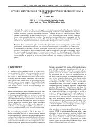 optimum reinforcement for ductile response of lrc beams using a ...