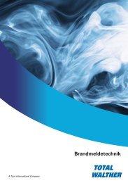 Brandmeldetechnik - TOTAL WALTHER GmbH