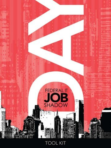 IT Job Shadow Day Guide - Chief Information Officers Council