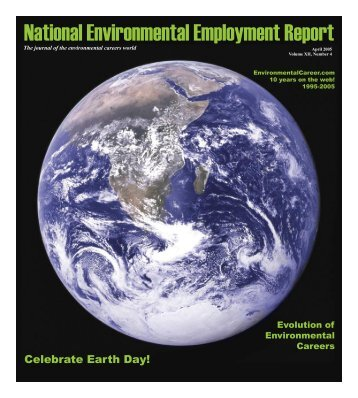 April 2005 National Environmental Employment Report