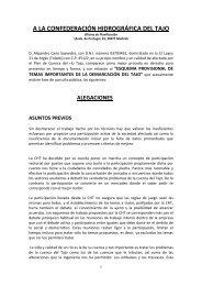 Particular (Alejandro Cano Saavedra). - Confederación Hidrográfica ...