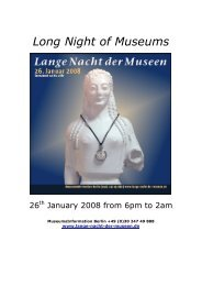 Long Night of Museums - Lange Nacht der Museen