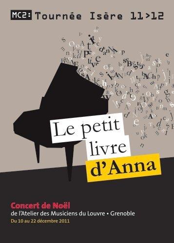 Le petit livre d'Anna - Queloudilam année 2012