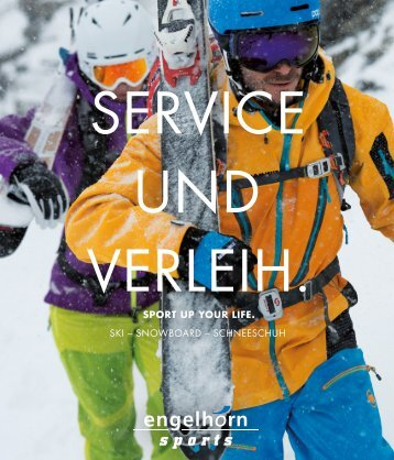 service und verleih. - Engelhorn