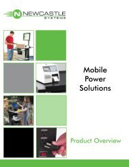 Mobile Power Solutions - BarCode ID Systems