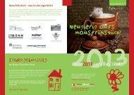 Download des aktuellen Mausfrühstück-Flyers - Heinz Fitschen Haus