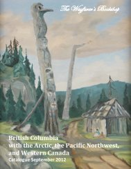 British Columbia, Arctic, Pacific Northwest and Western Canada