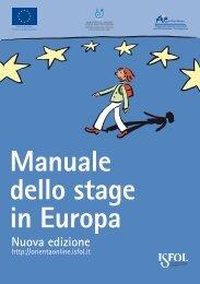 Manuale dello stage in Europa – Nuova edizione - Unisi.it
