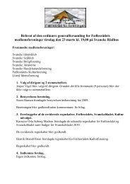 Referat af den ordinære generalforsamling for ... - Svaneke.info