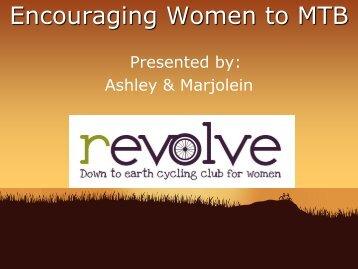 Getting more women involved in mountainbiking - Single Track Club