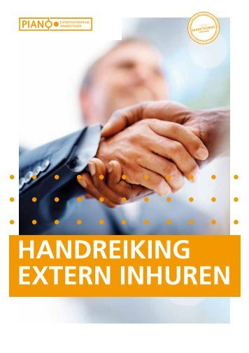 HANDREIKING EXTERN INHUREN - Pianoo