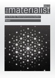 Dez 11 Quasi Ein Heft für Materialwissenschaftler - SMW - ETH Zürich