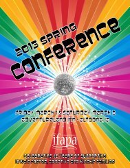 2013 Conference Booklet - ifapa