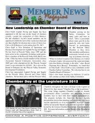 Download this Newsmagazine - Prescott Valley Chamber of ...