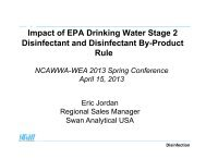Impact of EPA Drinking Water Stage 2 Disinfectant and Disinfectant ...